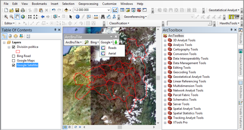 Synchronize ArcGIS with Google Earth