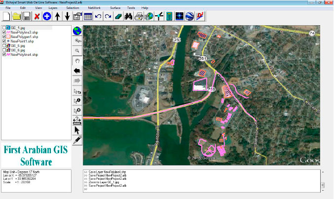 Download Google Earth rectified maps and rectify raster images