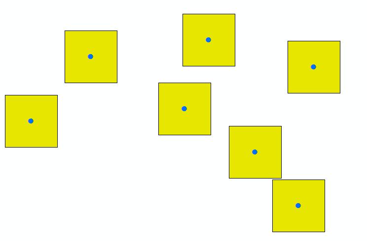 Square buffer ArcGIS