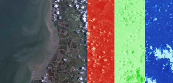 How to composite satellite image bands in ArcGIS
