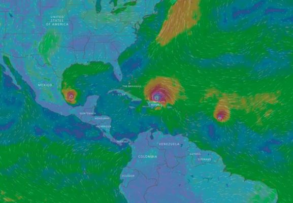 Real-time wind mapping