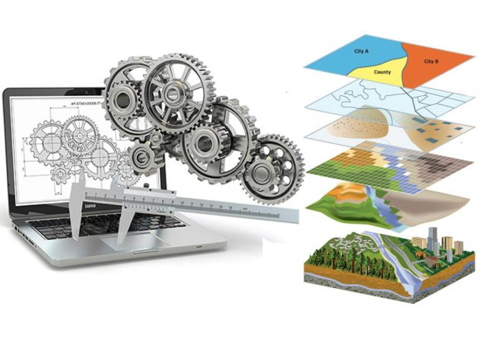 Differences between GIS and CAD