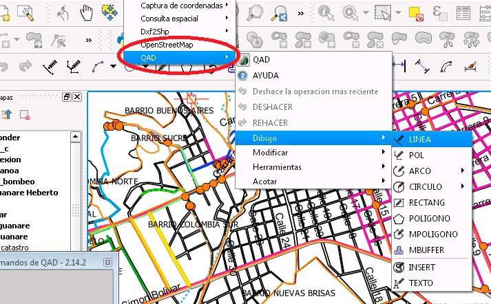 Drawing in QGIS with better accuracy than AutoCAD