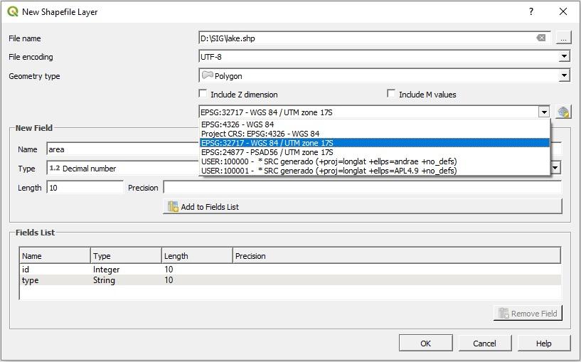 Creating shapefiles in QGIS 3 – GeoGeek